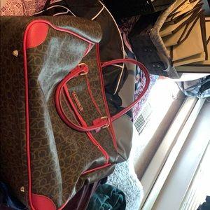 Calvin Klein travel bag